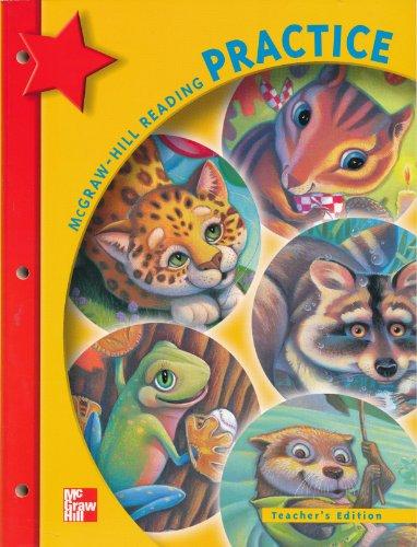 McGraw-Hill Reading Practice Workbook Teachers Edition Grade 1