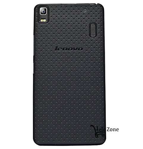 save off 0d597 ec062 Hello Zone Exclusive Dotted Matte Finish Soft Back Case Cover for Lenovo A  7000 A7000 / Lenovo K3 Note-Black