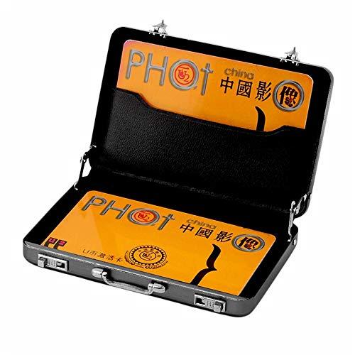 RoadRomo Portabiglietti Porta Carte di Credito in Alluminio con Password di Lunga Durata Porta Carte di Credito in Alluminio 96 x 82 x 16 mm