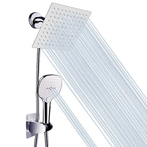 high pressure chrome shower head - 8