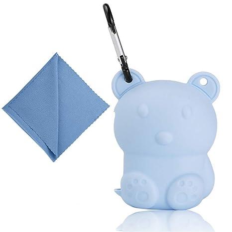 Gaddrt - Toalla de ducha de microfibra para viaje, secado rápido, con caja de