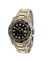 Rolex Master Ii Mens Automatic Gmt Watch 116713