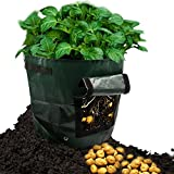 ASYOU 2 Pack 7 Gallon Garden Potato Grow Bag