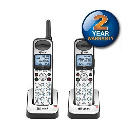 AT&T SB67108 Cordless Telephone Expansion Handset DECT 6.0 1.9Ghz (2-Pack)