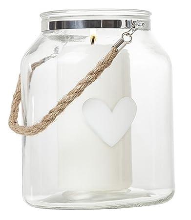 BRANDANI Eimer Traditionelle Vorratsglas für Kekse Kerzen