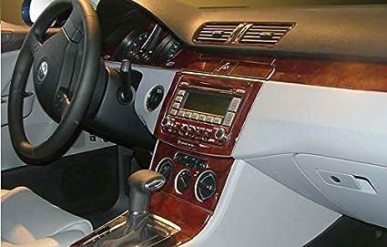 volkswagen passat interior 2008. volkswagen passat interior burl wood dash trim kit set 2006 2007 2008 2009 2010 2011 volkswagen passat interior
