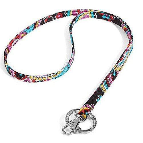 - Vera Bradley Cotton Lanyard Necklace Strap In Parisian Paisley 10887-340