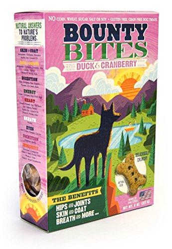 (Bounty Bites Duck & Cranberry Grain Free Baked Dog Treats)