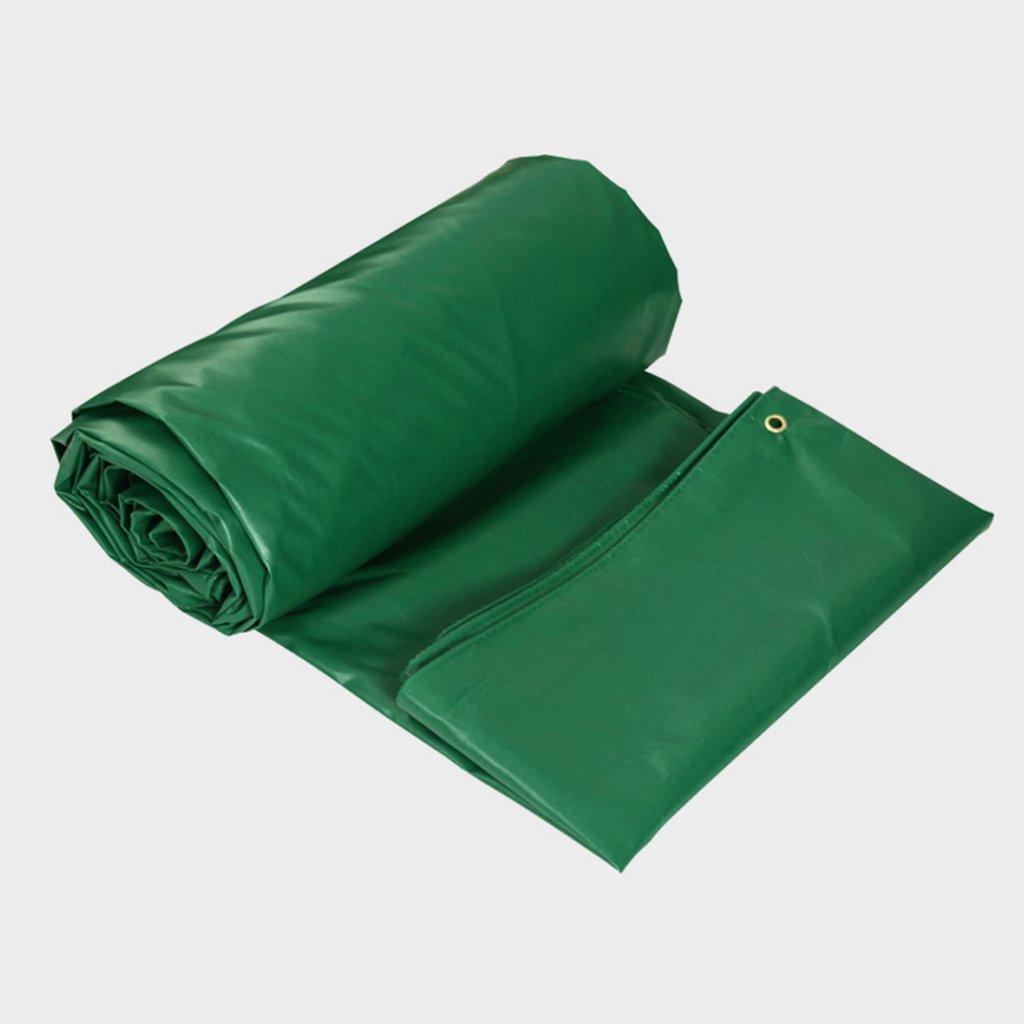 Mehrzweck Plane Grüne 0.4MM, Plane-wasserdichte Tuch-Sonnenschutz-Schatten-Schattentuch-LKW-Plane-Plane im Freien, Stärke 0.4MM, Grüne 420 G   m2, Größe 12 wahlweise freigestellt Schutzplane ( größe   45 ) c0353c