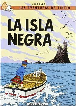 C- La Isla Negra por Herge-tintin Cartone I