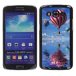 Dragon Case - FOR Samsung Galaxy Grand 2 - make life so spectacular - Caja protectora de pl??stico duro de la cubierta Dise?¡Ào Slim Fit