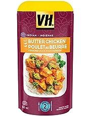 VH Butter Chicken Cooking Sauce Pouch (12 Pack), 160 Milliliter