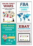 E-COMMERCE DOMINATION (2016): FBA PRIVATE LABEL - THRIFT WARS - ONE HOUR ECOM - EBAY STARTERS GUIDE (4 in 1 Bundle)