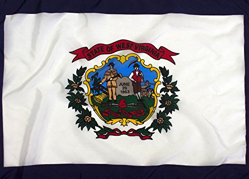 Federal Flags 3x5ft West Virginia Flag Outdoor Nylon