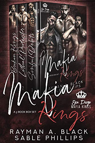 Mafia Kings: A 3-Book Boxset (A Dark Mafia Romance)