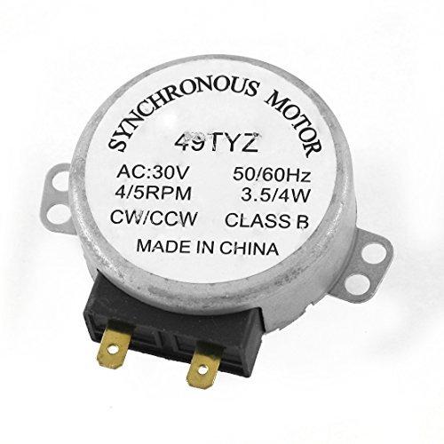 AC 30V 3.5 / 4W 4/5 rpm Synchronous Motor 49TYZ para ...