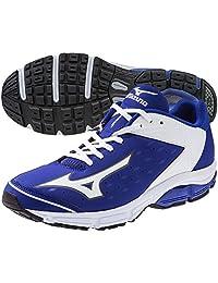 Mizuno Swagger 2 Trainer Mens Turf Shoes 12.5 Royal-White