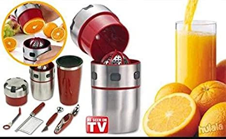 PRO-V Juicer exprimidor universal prensador de cítricos Bar Licuadora fruta Shaker: Amazon.es: Hogar