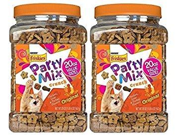 Purina Friskies Party Mix Original Crunch Cat Treats (20oz. - 2 Pack)