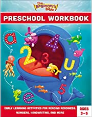 The Beginner's Bible Preschool Workbook: Early Learning Activities for Reading Readiness, Numbers, Handwriting, and More