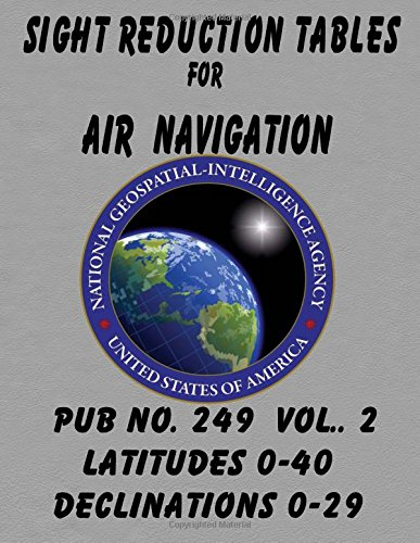 Sight Reduction Tables for Air Navigation Vol 2: National ...