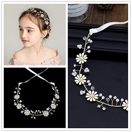 donfohy20 Children Children Headdress Headdress Bridal Bouquet Bridal Bridesmaid Hair Accessories ()