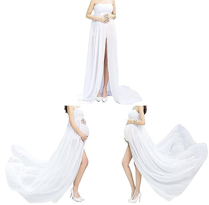 Vestido de maternidad de las mujeres Sexy embarazada fotografía Props Studio vestidos de gasa, regalo perfecto para mujeres embarazadas: Amazon.es: Ropa y ...