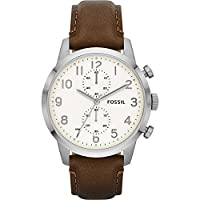 Fossil Townsman Chronograph Leather Watc...