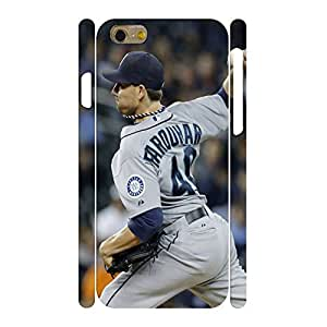 Love Heart Series Baseball Star Player Handmade Hard Plastic Skin for Iphone 6 Case - 4.7 Inch by mcsharks