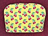 Cherries on Yellow Reversible 2-Slice Toaster Cover 11.5''(l) x 7.5''(h) x 5.5''(w)
