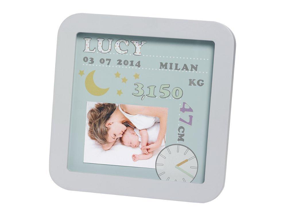 Baby Art 34120143 My Birth Date - Vielseitiger Bilderrahmen zur ...