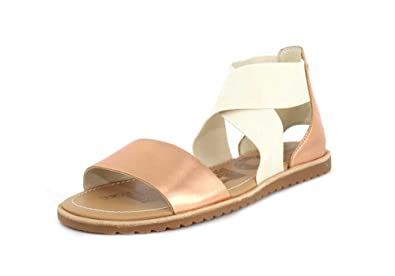 e94227c4a97 Sorel Womens Ella Sandal Beach Holiday Open Toe Cut Out Fashion Sandals -  Natural - 3