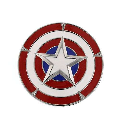 captain america belt with buckle - 9