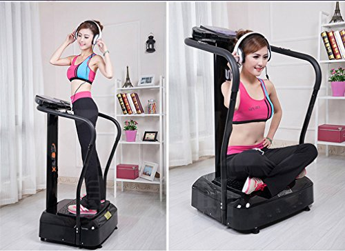 Merax 2000W MS033629BAA Crazy Fit Vibration Platform Fitness Machine
