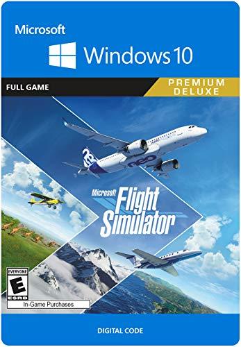 Microsoft Flight Simulator Premium Deluxe Edition – PC [Online Game Code]