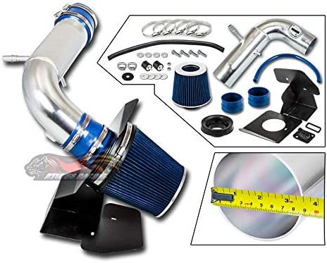 FILTER Velocity Concepts BLUE 2011-2018 For Explorer 3.5L V6 Non-Turbo COLD SHIELD AIR INTAKE KIT