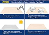 Multi-Size Table Protector Tablecloth Protector