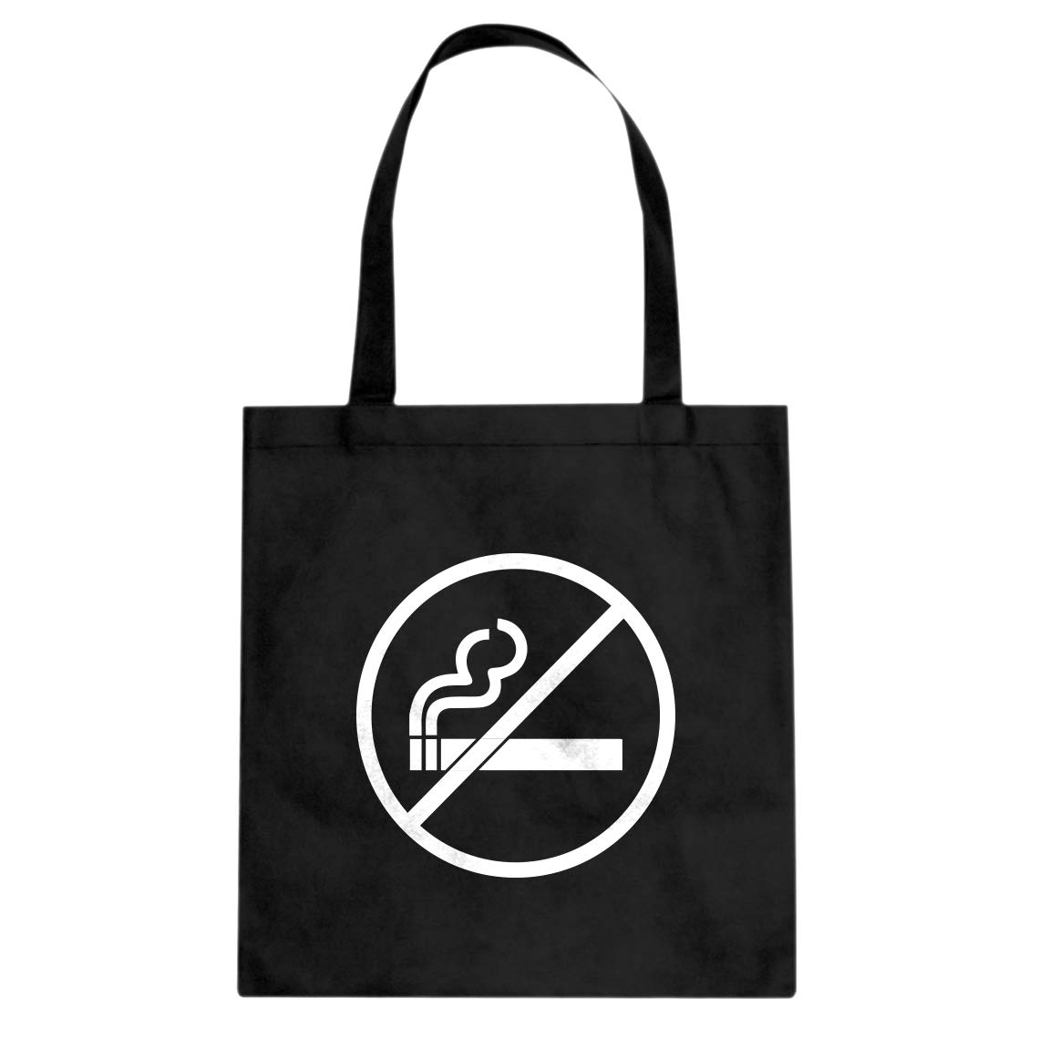 Indica Plateau No Smoking Cotton Canvas Tote Bag