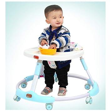 WMYJXD Andador para Bebés, Andador Multifuncional, Plegable ...