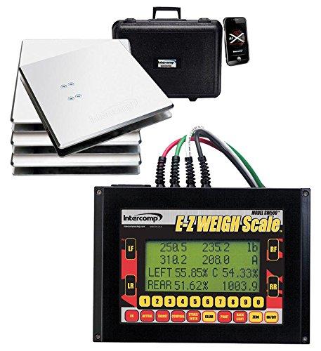 Intercomp 170130 SW500 E-Z Kart Scale System, 1 ()