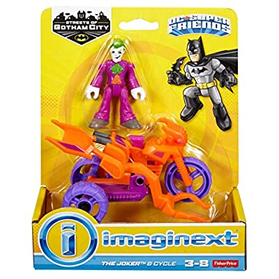 Fisher-Price Imaginext Streets of Gotham City The Joker & Cycle: Toys & Games
