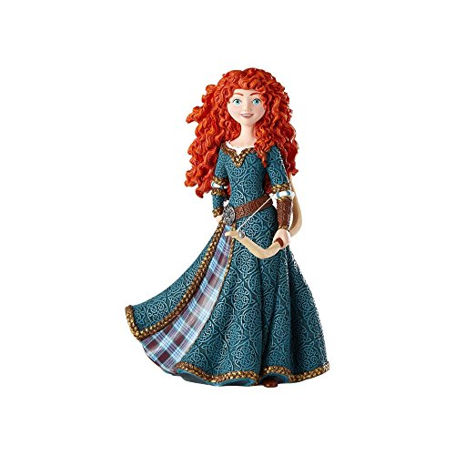 "Enesco Disney Showcase ""Brave"" Merida Couture De Force Stone Resin Figurine, 8"", Multicolor"