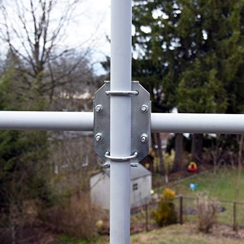Proxicast X-Boom Antena Mast Cross-Over Kit de Soporte para Tubos OD de 1.25