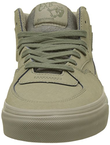 Vans Unisex-Erwachsene Half Cab Hohe Sneaker Grün (Mono Buck)