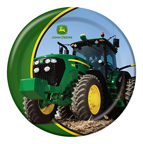 Deere John Collection (John Deere Round Dinner Plates, 8 Count)