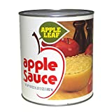 Knouse Foods Sweetened Apple Sauce, Number 10 Can - 6 per case.
