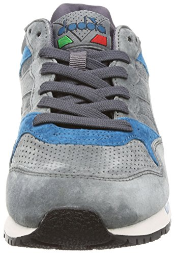 Diadora Uomo, Intrepid Premium Castle Rock Nine Iron Lyons BL, Suede, Sneakers, Grigio