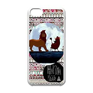 JamesBagg Phone case Hakuna Matata-Lion King quotes series protective case cover For Iphone 5c C-HKN94727