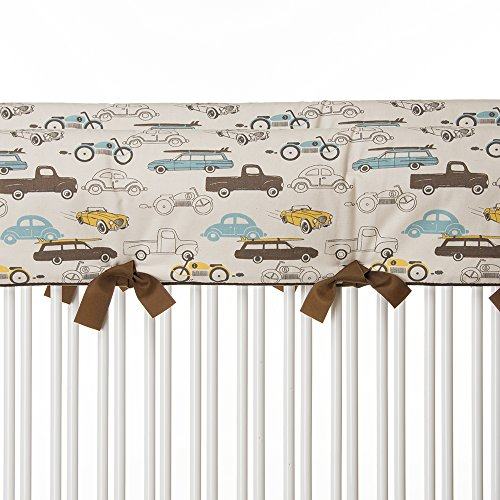 Sweet Potato Traffic Jam Convertible Crib Rail Protector, Short, 2 Count by Sweet Potatoes