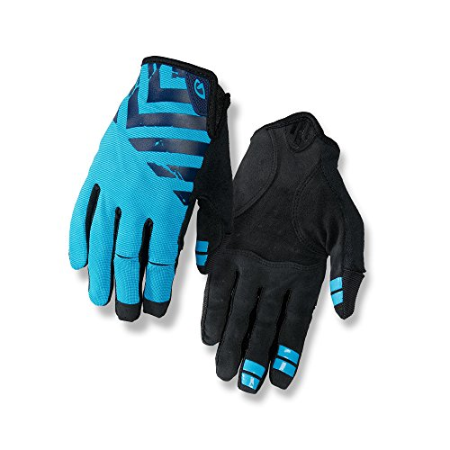 Giro DND Mountain Bike Gloves Midnight/Blue Jewel/Black L Black Professional Bike Glove